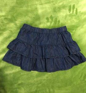 Очаровательная юбочка для девочки Modis