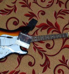 Электрогитара ION (USA) + USB-адаптер + Guitar Rig