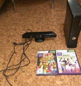 Xbox 360 250gb + kinnect + джостик + 2 д + it3.0