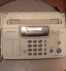 стационарный телефон-факс