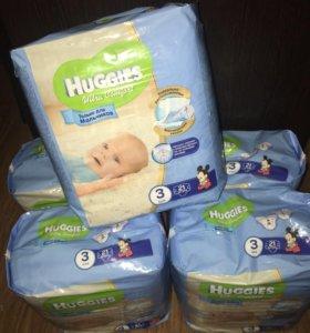 Подгузники Huggies Ultra Comfort 3