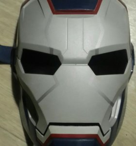 Маска супергероя Марвел-комикс Железный патриот