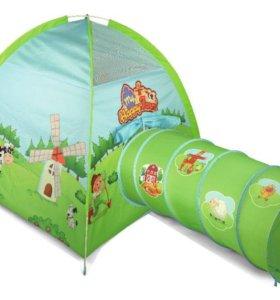 Палатка с тоннелем