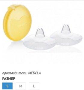 Накладка для кормления силиконовая Medela