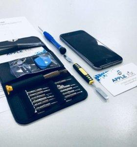 Ремонт iPhone 4/5s/6/6s/7.Замена дисплея, детали