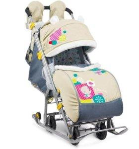 Санки- коляска Ника детям
