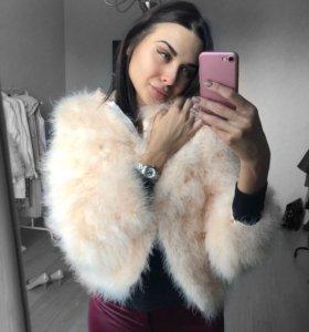 Куртка из страуса новая