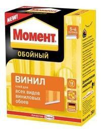 """Клей обойный """"Момент"""" Винил 250 гр"""