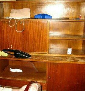 Шкафчики 4 шт, швейная ножная машинка
