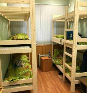 Двухъярусные кровати от 2200