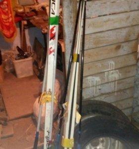 Лыжи отдам