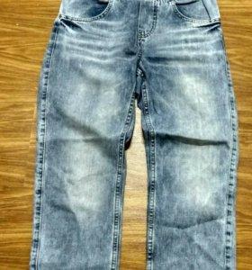 джинсовой комбинезон