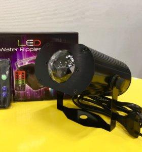 Светодиодный проектор воды