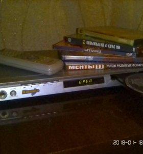 DVD + большая Коллекция дисков.