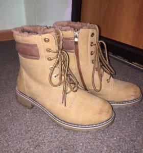 Высокие ботинки (зима)