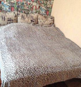 Кровать без каркаса(сетка)+матрас
