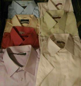 Рубашки 7 шт мужские