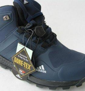 Кроссовки Adidas Terrex Clima Высок.Синий Нубук 45