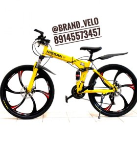 Новый велосипед Nissan