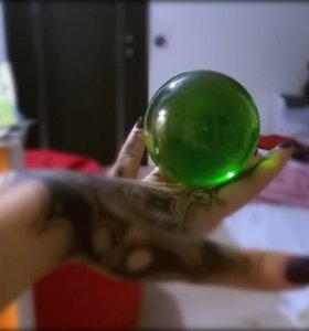 Акриловый шар 70 мм