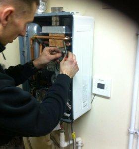 ремонт газового котла колонки