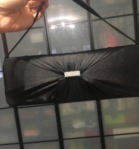 Клатч чёрного цвета
