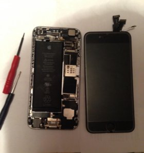 Замена экрана айфон