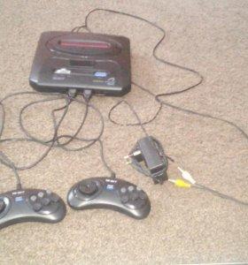 Игровая приставка Mega drive 2