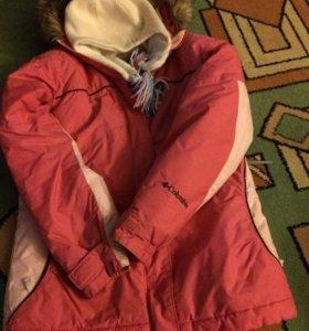 Куртка лыжная Коламбия