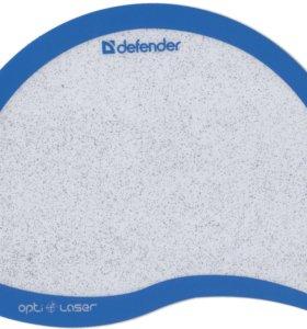Defender Ergo opti-laser (синий, черный)