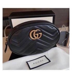 Сумка Gucci Belt GG Marmont Пояная На пояс