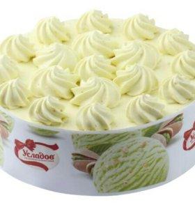Торт Фисташковый пломбир