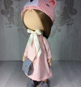 Кукла интерьерная текстильная