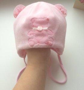 Детская шапка 🎀на девочку