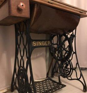 СРОЧНО! Машинка швейная Зингер-рабочая
