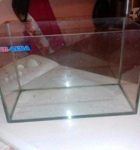 прямоугольный аквариум 20 литров