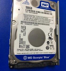 Ps3 HDD 500GB. Жёсткий диск для Ps3. +Салазки.