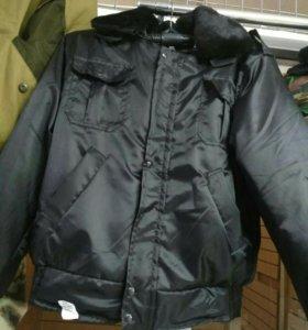Куртка черная Охранник
