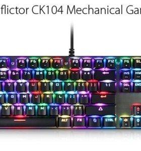 Клавиатура motospeed ck104 рус