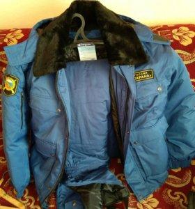 Зимний комплект одежды. Куртка, комбинезон. Новый