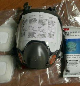 Новая полнолицевая маска 3M 6800