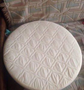 Матрас для круглой детской кроватки ! Новый