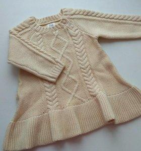 Свитер/платье детский новый GAP. 74-80р