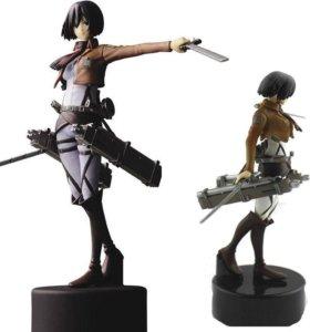 Аниме Attack on Titan Атака титанов Фигурка Mikasa