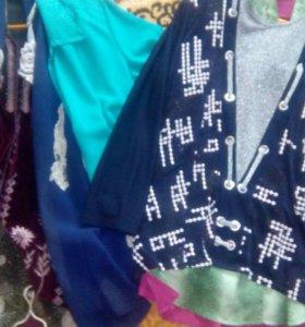 Одежда женская, больших размеров, цена за все