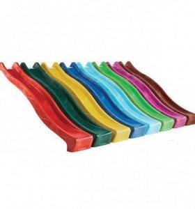 Скат для детской площадки 3 метра