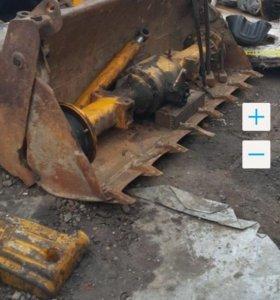 Ковш челюстной на экскаватор погрузчик KAT-438-B