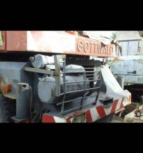 Запчасти на автокран gottwald 1989г