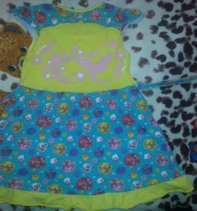 платье х/б. размер 116