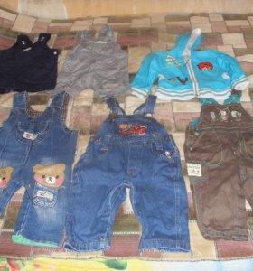 Одежда с 6 месяцев до 1,5 лет